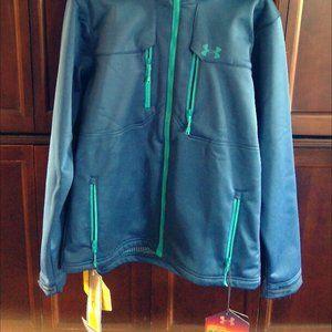 Under Armour Men's Gray Storm Coldgear jacket
